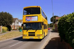 Tendring Travel at Stutton (Chris Baines) Tags: tendring travel volvo olympian alexander s678 pga stutton village suffolk
