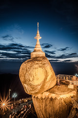 DSC07663.jpg (bransch.photography) Tags: ancient asian landscape asia pray landmark worship travel myanmar burma night buddha shrine culture holy sacred buddhism stone beautiful stupa monastery golden rock religious religion kyaiktiyo tourism temple pagoda