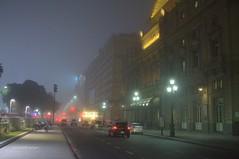 Niebla (luisarmandooyarzun) Tags: sudamérica city citycape urbana ciudad neblina invierno winter street light luces calle turismo fotografía photography niebla argentina buenosaires