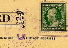 Fullerton, Montana (Postmarks from Montana) Tags: montana fullerton postmark postagestamp 1911 may22