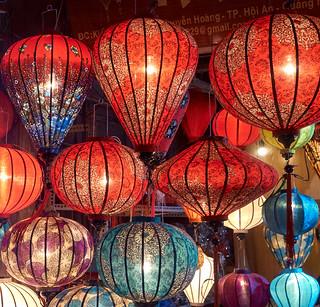 Faroles chinos, Hoi An, Vietnam