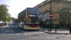 East Yorkshire 808 (BF67GHN) 19052018c (Rossendalian2013) Tags: eyms eastyorkshiremotorservices bus york volvo b5tl mcv evoseti bf67ghn