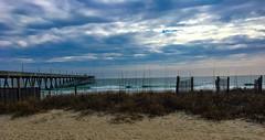 Wrightsville Beach, NC (Shawn Blanchard) Tags: beach wrightsville northcarolina nc carolina clouds color water waves pier sand grass coast sky white blue