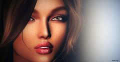 Incandescent (Scottie Leigh) Tags: secondlife sl beauty love light woman brunette portrait catwa exxess