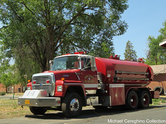 Warm Springs Fire And Safety Ford L9000 Water Tender 2231 (Michael Cereghino (Avsfan118)) Tags: fire truck tender water warm springs and safety department ford l9000 l 9000 daycab apparatus