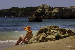 POTI082014_239R_FLK (Valentin Andres) Tags: algarve darocha playa portimao portugal praia acantilado beach cliff islote roca rock