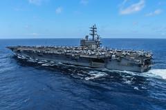 180715-N-PJ626-6956 (U.S. Pacific Fleet) Tags: ussronaldreagan cvn76 forwarddeployedaircraftcarrier carrierstrikegroup5 maritime usnavy japan cfay commanderfleetactivitiesyokosuka yokosuka gq cbr