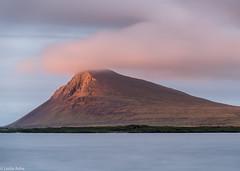 (Donard850) Tags: iceland trékyllisvík westfjords clouds glow mountain sea sunset
