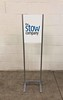 The Stow Company Signage Collection (2/90 Sign Systems) Tags: 290 sign signs signage systems wayfinding facility modular 290signsolutions klik stow blue freestanding lightweight infomation