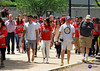 Washington Capitals fans walk from parade route and stage area, where the Stanley Cup celebration occurred. ((3.9 million views)) Tags: celebration stanleycup walking fans washington capitals 2018 world champions nhl hockey parade rock red dc mall
