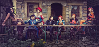 The Witcher Cosplay Dinner, by SpirosK photography