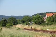 20180616 0147 (szogun000) Tags: mieroszów poland polska town buildings railroad railway rail pkp mainline track signal d29291 dolnośląskie dolnyśląsk lowersilesia canon canoneos550d canonefs18135mmf3556is