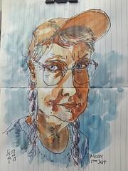 Merry Pieps54 pour JKPP        #crobard #sketch #juliakaysportraitparty (dege.guerin) Tags: juliakaysportraitparty crobard sketch