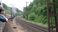 Zugfahrt (12) (Disktoaster) Tags: eisenbahn zug railway train db deutschebahn locomotive güterzug bahn pentaxk1 dampflok steamer steamlocomotive 01519 westfalendampf