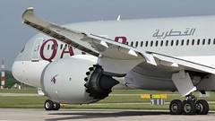 A7-BCX (AnDyMHoLdEn) Tags: qatar 787 dreamliner oneworld egcc airport manchester manchesterairport 23l