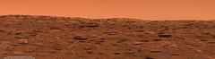 Vera Rubin Ridge during dust storm - sol 2084 (Thomas Appéré) Tags: mars msl curiosity ridge geology dust storm technology science exploration nature escarpement rock rocher