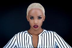 DSC07880-Edit (timevans10) Tags: genevieve blackhair blonde fabric striped studio1377