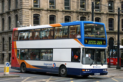 17698 MW52 UJE 219 (Cumberland Patriot) Tags: stagecoach north west england greater manchester south buses dennis trident low floor bus