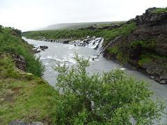 Islandia Cascada de Hraunfossar rio Hvita 05 (Rafael Gomez - http://micamara.es) Tags: islandia cascada de hraunfossar rio hvita cataratas cascadas y río hvitá