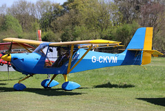 G-CKVM (GH@BHD) Tags: gckvm gcjol aeropro eurofox aeroproeurofox3k pophammicrolighttradefair2018 pophamairfield popham aviation aircraft microlight