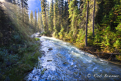 Canada Rocky Mountains (rob.bremer) Tags: canada alberta rockymountains landscape landschap nature natuur river rivier colour kleur sunrise zonsopkomst