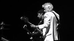 U2 - 2018-05-08 - San Jose (rossgperry) Tags: u2 u2eitour experienceinnocencetour adamclayton theedge sapcenter sanjose 20180508 2018 concert bw blackandwhite