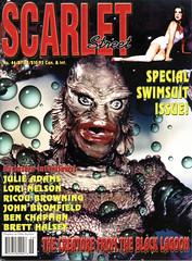 Scarlet Street (BudCat14/Ross) Tags: scarletstreet magazinecovers vintagemovies vintagestars creaturefromtheblacklagoon cinema stars julieadams blackie