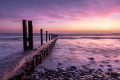 Vanishing Point (johnkaysleftleg) Tags: seaham seascape seahamharbour sunrise countydurham colourful northeast england canon760d sigma1020mmf456exdchsm nd