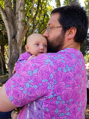 Matching (quinn.anya) Tags: andy eliza baby roses matching familiesbelongtogether protest