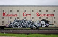 Atik (quiet-silence) Tags: graffiti graff freight fr8 train railroad railcar art kcs autorack automax