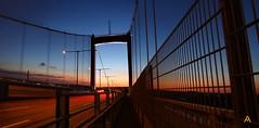 IMG_8734_stitch (AndyMc87) Tags: älvsborgsbron bridge during sunset lightstreams travel langzeitbelichtung longtimeexposure longtime silhouette sky architecture architektur canon eos 6d 2470 l night structure ice stitched stitch