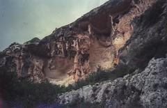 limestone (flexderfuchs) Tags: limestone crag outdoor vintage analog porst 135s