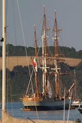 Kaskelot (charliejb) Tags: cornwall 2018 falmouth packetquays sea kaskelot tallship wooden sailingship masted masts sails