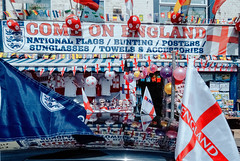 Fire sale (see it, shoot it) Tags: anfield liverpool shop england worldcup supporter football 1966 2018 footballkit flag storefront nationalism patriotic souvenir breckroad dxo kodachrome25