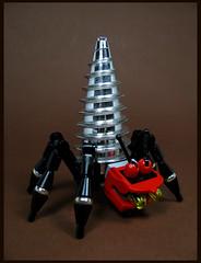 Drillbug (Karf Oohlu) Tags: lego moc insect drill fantasy sixlegs