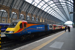 East Midlands Trains HST 43075 (Will Swain) Tags: station 24th march 2018 london kings cross vtec greater capital city south east train trains rail railway railways transport travel uk britain vehicle vehicles country england english midlands hst 43075 class 43 075 75