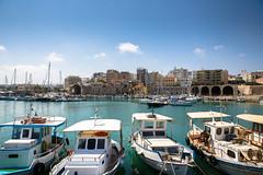 Greece. Crete. Heraklion (v_mats) Tags: boats ship building architecture aegeansea sea heraklion crete greece 2470 canonef2470mmf28liiusm canoneos5dmarkiii canon