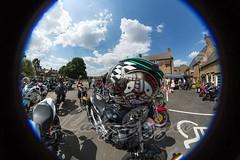 2018-07-14_MMC_web-50 (CarolAnn Photos) Tags: 2018 july mandevillemotorcyclemeet thorpemandeville threeconies bike fisheye motorbike motorcycle england unitedkingdom gb