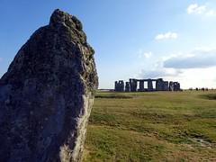 The Heel Stone at Stonehenge (markhorrell) Tags: britain walking stonehenge wiltshire antiquities
