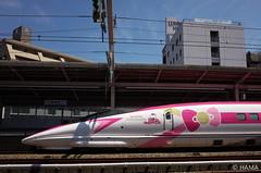JR West - Hello Kitty Shinkansen (HAMA-ANNEX) Tags: gr jr西日本 jrwest shinkansen hellokittyshinkansen hellokitty ハローキティ新幹線 ハローキティ 500series 500 500系