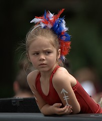 The Look (Scott 97006) Tags: kid girl watching parade ride cute observing contemplation contemplating