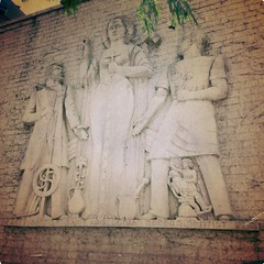 20180709-115649-3 (alnbbates) Tags: july2018 downtowntulsa sculpture art publicart basrelief