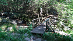 Bridge Over Stream (Wavelength415) Tags: bridge stream