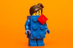LEGO Brick Suit Girl (cuurchk) Tags: lego legominifigure collectibleminifigures legocollectibleminifigures series18 legocms legobricksuitgirl legobricksuitgirlminifigure legobricksuitgirlminifig brick party minifigure minifigures minifigs build create legophotography toyphotography minifigurephotography legoportrait