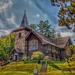 Lake Placid New York - St. Eustace's Church - Exterior thumbnail