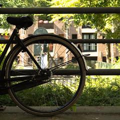 Saturday Self Challenge: Round in square (naturum) Tags: 2018 amsterdam bicycle bike fiets geo:lat=5236824318 geo:lon=491820574 geotagged holland hoogtekadijk juli july kadijken nederland netherlands rond round summer wheel wiel zomer noordholland