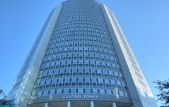 The Crystal Tower. (PhotoTJH) Tags: phototjh phototjhnl urban street straat office building kantoorpand kantoor pand gebouw amsterdam sloterdijk crystal tower hdr