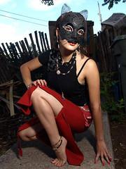 Ira behind the mask. (Lloyd Thrap) Tags: mask potd model modelshopstudio™ santafenewmexico photomodeling photography flickr smug mug lloydthrap singlelight olympusfl50strobeonttlcablewsoftbox santafe newmexico