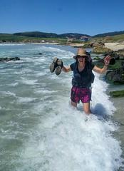 Camino de Surf? (GeoY5) Tags: spain costadamorte caminodosfaros surf jen waves galicia