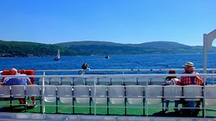 Scotland West Coast the car ferry Loch Riddon nearing Largs video 28 May 2018 by Anne MacKay (Anne MacKay images of interest & wonder) Tags: scotland west coast sea car ferry loch riddon largs 28 may 2018 video by anne mackay caledonian macbrayne calmac ship people passengers